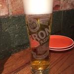 ヴィア ビア オオサカ - リュックからワニを取り出す暇もない       イタリアのプレミアムビール M 980円(高っ)