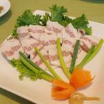 スカズカ - サーロ(800円・外税) 塩漬けにした豚脂肉