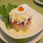 スカズカ - スバ(1100円・外税) ニシンのサラダ