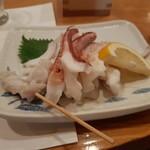 鮨 割烹 二代目 司 - 剣先ゲソ塩焼き