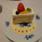 ティーサロン・コペン - いちごのケーキ