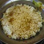 チーズタッカルビ 肉 居酒屋半 - 〆の雑炊