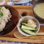 食堂ことぶき - 有機グリーンカレー