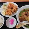 Kaka - 料理写真:台湾ラーメン唐揚げセット