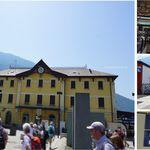 Hotel Corona - イタリア鉄道Tirano駅ティラノ(イタリア北部,スイス国境)食彩品館.jp撮影