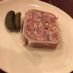 ガンゲット・ラ・シェーブル - シンプルに肉の旨さがわかるパテ・ド・カンパーニュです