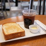 ダウンステアーズコーヒー - ■トーストセット 510円