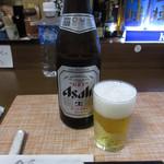 和楽路 - 瓶ビール(中瓶) 600円 (2019.8)
