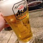 114638028 - 【キンキンに冷えた生ビール】
