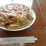 あさひ食堂 - 料理写真:あんかけ焼きそば 700円(税込)