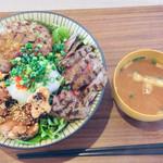 HungrybowL 2nd - 2929丼 1,650円 ご飯 特盛 300g