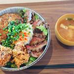 HungrybowL 2nd - 2929丼  1,650円 ご飯 ゴツ盛 500g