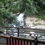 114645292 - 天降川に注ぐ霧島連山の水