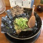 武蔵ラーメン - 武蔵の黒ラーメン