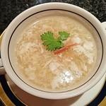 Kitashinchikyouka - フカヒレ入り卵白スープ