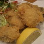 味処 坂 - 牡蠣フライ