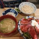 東京 壽 - ローストビーフ定食