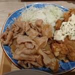 東京 壽 - 生姜焼き&チキン南蛮アップ