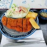 もろみや - 牛カツ単品(800円)