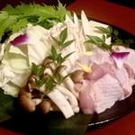 114654775 - 鶏すき鍋