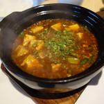 114655265 - 土鍋麻婆豆腐
