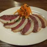 八丁堀ワイン食堂パパン - 鴨モモ肉のコンフィ