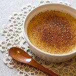 かもし堂 - 料理写真:味噌クレームブリュレ(なめらかクレームブリュレに八丁味噌を練り込みました♪)