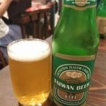 台湾茶房 e~one - 台湾ビール
