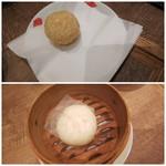 上海湯包小館 - ◆ごま団子、肉まん◆♪