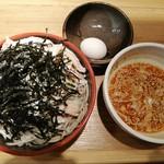 創作十割蕎麦 とらせんにん - 肉つけ蕎麦  いまだけ980円→700円(税込)