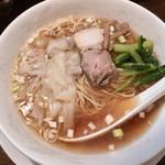 中國料理 萬来 - 料理写真:●ワンタン麺 780円