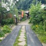 川の駅 松平 - お店の入口前の様子
