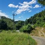 川の駅 松平 - すっかり山の中の川の駅です