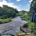 川の駅 松平 - ステキな巴川を眺めながらの食事