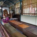 川の駅 松平 - 桟敷に座敷席もありました