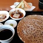 そば香房 遊味 - 料理写真:もりそば小膳(大盛り)1510円