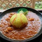 ひまわり - 料理写真:安インカレー