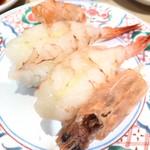 まわる寿司 博多魚がし - 赤えび ¥370
