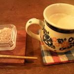 風泉 - ほうじ茶ミルクティ♪