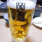 居酒屋 喰萬八 - 生ビール