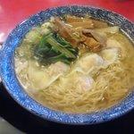 茨珍麺飯食堂 - 海老ワンタンメン