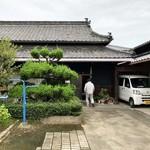 大平製麺 - 普通の民家の入口^_^