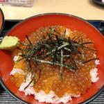 名代 富士そば - タピオカ漬け丼セット(もり)~☆