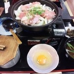 水琴茶堂 - 地鶏の親子鍋