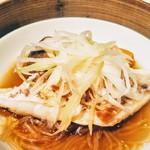 大阪 聘珍樓 - 季節野菜と魚の蒸し物