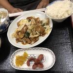 中国料理 桃仙 - 回鍋肉定食