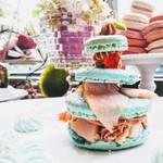 つくしんぼカフェ - 桃のプリンセスショートケーキ