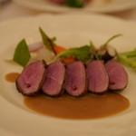 シェムラブルリス - 料理写真:幼鴨胸肉ロティ マルコポーロ