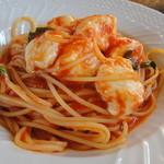 11469314 - モッツァレラのトマトソーススパゲティ