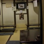 宿場そば 桑名屋 - 風情のある座敷の間